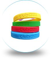 Debossed wristbands are the most popular style of custom silicone wristbands with good reason.