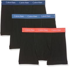 Calvin Klein Underwear 0000U2662G – Boxer – Uni – Lot de 3 – Homme: Calvin Klein caleçon en paquets de trois. Les boxeurs sont très…