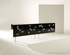 Arijian is an artisanal craft brand based on traditional Korean crafts. Korean Crafts, White Crane, Sideboard Cabinet, Korean Art, Traditional, Contemporary, Beautiful, Interior Design, Chair