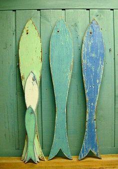 Fish —use wide lumber for serving plates—AV