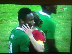 #Rio2016: John Mikel Obi Scores As Nigeria Demolish Denmark 2-0. To Play Germany In Semi-Final (Photos)