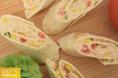 Imprezowe roladki z tortilli - musisz je przygotować na imprezę!