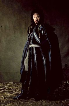 Love the wall, love the man.  Alan Rickman....
