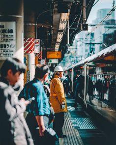 Fascinating Street Photography of Tokyo by Jongwoo Kim #photography #urban #Tokyo