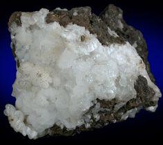 Thomsonite var. Faröelite with Apophyllite from Scotland (Type Locality for Thomsonite)