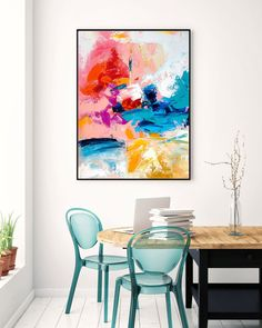 Contemporary wall Art - Extra Large Wall Art Original Art Bright Abstract Original Painting On Canvas Extra Large Artwork Contemporary Art Modern Home Decor Large Abstract Wall Art, Large Artwork, Extra Large Wall Art, Canvas Wall Art, Wall Art Prints, Gold Canvas, Large Canvas Art, Canvas Canvas, Canvas Ideas
