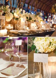 Simply White Wedding {Elegance + Natural Elements}