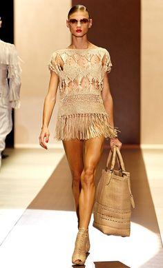 Fashion macramé