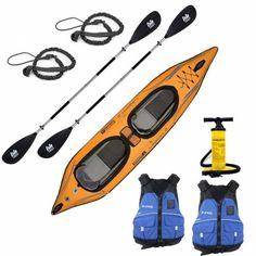 Advanced Elements Lagoon 2 Inflatable Kayak Package