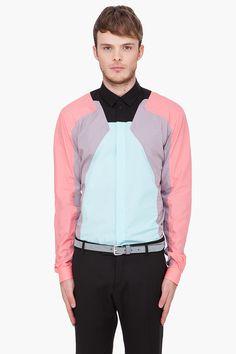 Mugler Multicolor Buttondown Shirt