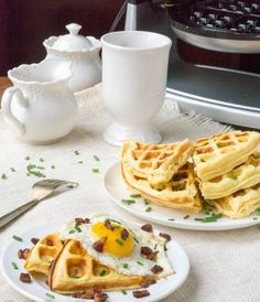 These savory cloud bread cheddar waffles are keto, low carb, grain free and Low Carb Bread, Low Carb Keto, Low Carb Recipes, Whole Food Recipes, Keto Bread, Healthy Recipes, Low Carb Breakfast, Breakfast Recipes, Breakfast Ideas