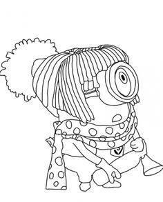 stuart dress up coloring for kids despicable me cartoon coloring pages
