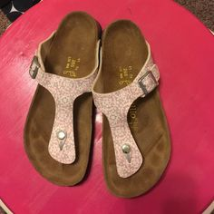 Papillio by Birkenstock size 10 Sandals EUC Worn once or twice Papillio Birkenstock sandals. Adorable and so comfortable, I just really needed an 11. EUC Birkenstock Shoes Sandals
