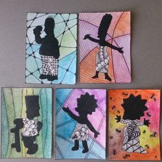 "Artist Trading Cards ""The Simpsons"""