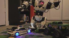 CRAZY POLICE CAR VS ROBOT! Toy Cars ACTION! Kids FUN!