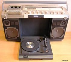 Marantz Unix. All in one Ghettoblaster.....................Please save this pin. .............................. Because for vintage collectibles - Click on the following link!.. http://www.ebay.com/usr/prestige_online