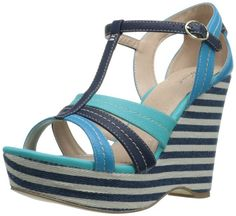 Amazon.com: Wanted Shoes Women's Maitai Wedge Sandal: Shoes