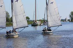 Een dagje zeilen op de Friese Meren. Foto: Jan Tijsma