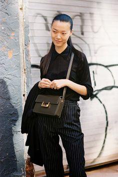 New York Fashion Week SS 2014....Tian