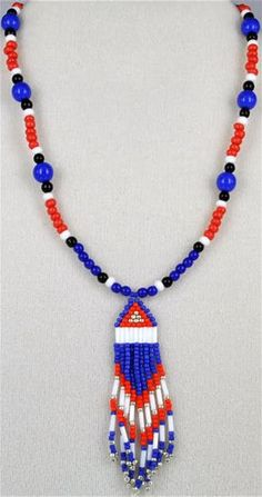 Images Seed Bead Crafts, Tassel Necklace, Cherokee, Seed Beads, Image, Jewelry, Indian, Style