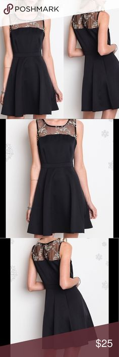 Favorite 💜 Black Dress Ladies, thisOut on the Town A-Line dress will look smokin hot on you! It has a gorgeous neckline adorned with gold embroidery, side zip, and is a serious attention getter. Slip on this dress and heels and go have some fun.55% Cotton 45% Polyester Umgee Dresses Mini