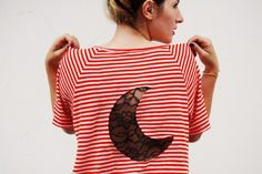 We Love This Re-Styled Tee to the Moon and Back!
