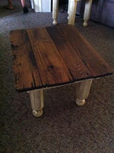 our new tables we had made at The Home Place in Grand Rivers, KY  I love that place!!