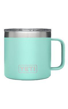 YETI 14 oz Seafoam Rambler Mug | Cavender's