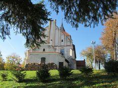 Świątynia została zniszczona w wyniku pożaru w 1618 roku. Do 1639 roku odbudowana w obecnym kształcie.  www.it.mragowo.pl