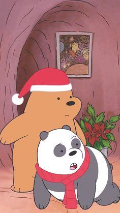 we bare bear♡ Foto Cartoon, Bear Cartoon, Cute Cartoon Wallpapers, Cute Wallpaper Backgrounds, Bear Wallpaper, Pattern Wallpaper, Wallpaper Fofos, We Bare Bears Wallpapers, Sunflower Wallpaper