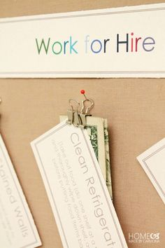 Work for hire that goes with a great chore system