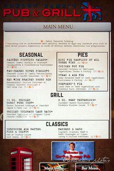 Gordon Ramsay Pub & Grill menu -  Caesars Palace Las Vegas Pictures, Las Vegas Food, Scottish Salmon, Las Vegas Attractions, Caesars Palace, Mini Pies, Art Prints For Sale, Gordon Ramsay, Places To Eat