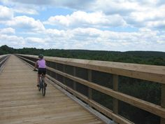 """""""High Bridge is The Crown Jewel""""   Guest Blogger Paula """"Sweet Pea"""" Skulina shares her adventures at High Bridge Trail State Park. See her post with more cool photos here: http://www.virginiaoutdoors.com/article/more/4173"""