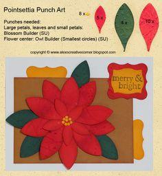 Alex's Creative Corner: Pointsettia Card