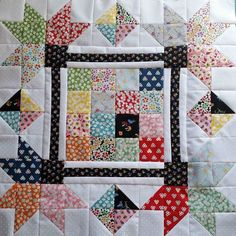 Sharing this beautiful mini quilt by @mytimelessday made with Hope Chest 2. The…
