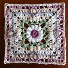 SpringlaneCAL von Dropsdesign - Granny square häkeln - crochet - uncinetto - hækle - crochetalong - mysteryblanket