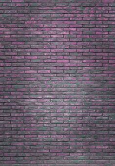 Purple art print featuring the photograph vertical purple brick wall background, wallpaper. Brick Wall Background, Red Background, Brick Patterns, Textures Patterns, Backgrounds Girly, Aesthetic Desktop Wallpaper, Purple Pattern, Watercolor Pattern, Pattern Art