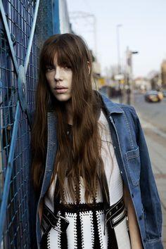 Oyster Fashion: 'Roman Road' Shot By Agata Pospieszynska | Stella McCartney jacket, Givenchy dress and vest