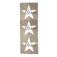 32,90EUR Teppich Sternenteppich beige weiss mit Home Schrift star carpet