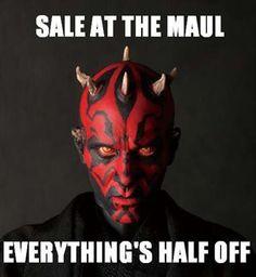 star wars puns darth maul - https://www.facebook.com/diplyofficial