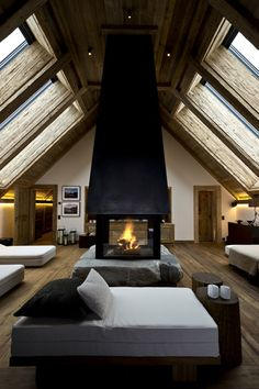 The Alpina Gstaad Hotel, Switzerland designed by HBA
