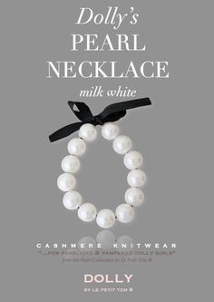 DOLLY by Le Petit Tom ® DOLLY GIANT PEARL NECKLACE