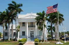 City Hall in Everglades City, FL