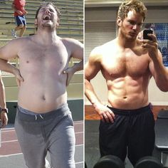 Chris Pratt Weight Loss Before And After