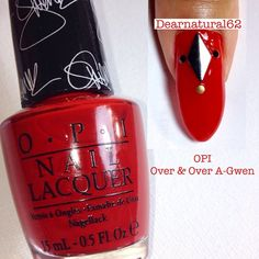 OPI Nails YouTube: Dearnatural62 @dearnatural62