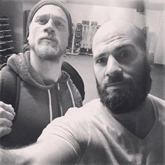 Charlie today at the gym. 1/24/2015 Credit: yasha malekazd.