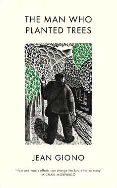 Wood engraver and illustrator Harry Brockway has created illustrations for the new edition of French author Jean Giono's novel The Man Who Planted Trees. They feature on the cover of the book and throughout, and are based on the illustrator's own woodcuts.