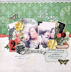 Memories~My Creative Scrapbook Limited Edition Kit~ - Scrapbook.com