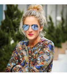 @Alexandra M What Wear - Leatherandleops is wearing: Parker jacket, Ray-Ban sunglasses