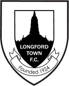 Longford Town FC, League of Ireland Premier Division, Longford, County Longford, Ireland Football Team Logos, Sport Football, Soccer Teams, Fifa, British Football, Republic Of Ireland, Sports Clubs, Crests, Football